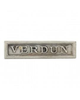 Agrafe Verdun Argent