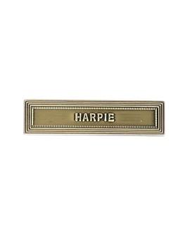 Agrafe Harpie Bronze