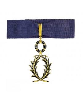 Médaille Commandeur de l'Ordre des Palmes Académiques Vermeil