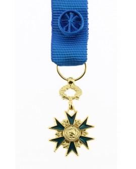 Médaille Officier de l'Ordre du Mérite Bronze Doré