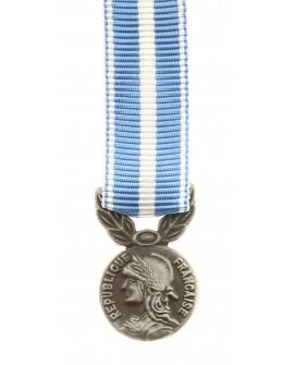 Médaille Outre Mer Bronze Argenté