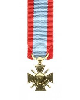 Médaille Croix du TOE