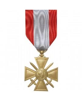 Médailles Croix du TOE Croix de Guerre Bronze