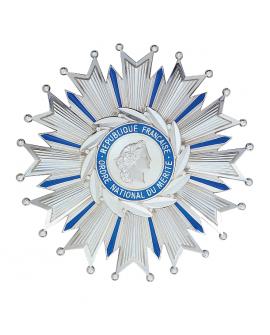Médaille Plaque Grand Officier de l'Ordre du Mérite Argent