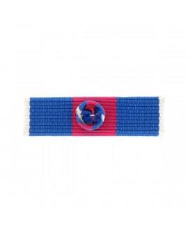 Barrette Dixmude Service Militaire Volontaire (SMV) Or