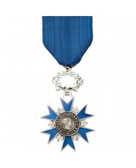 Médaille Chevalier de l'Ordre National du Mérite Bronze Argenté
