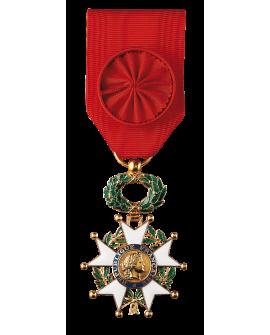 Médaille Officier de la Légion d'Honneur Bronze Doré