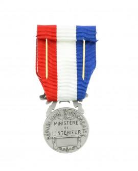 Médaille Honneur pour Acte de Courage et Dévouement  2ème classe Bronze Argenté