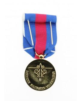 Médaille Service Militaire Volontaire (SMV) Bronze