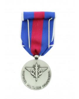 Médaille Service Militaire Volontaire (SMV)  Bronze Argenté